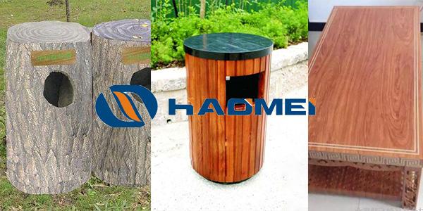 aluminium extrusion, Wood Transfer Print